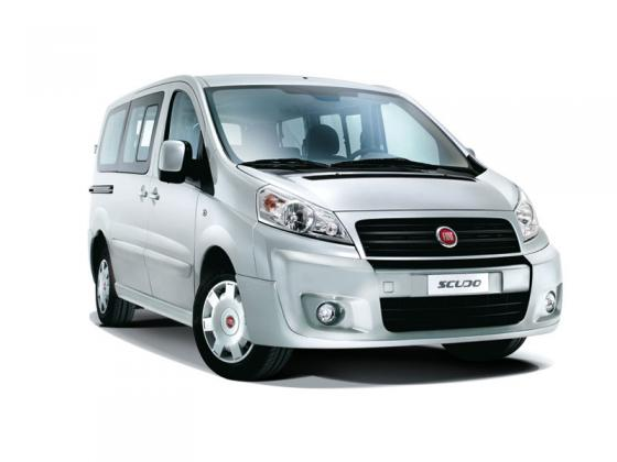 Fiat - Scudo diesel - 9 seats