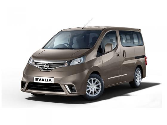 Nissan - NV200-Evalia diesel - 7 seats